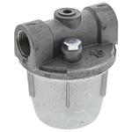 RS PRO 2 bar Aluminium Heating Oil Filter, 3/8 in BSPP, 61 x 61 x 75mm