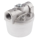 RS PRO 1 bar Aluminium Heating Oil Filter, 1/2 in BSPP, 81 x 81 x 84mm