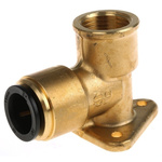 JG Speedfit 90° Brass Push Fit Fitting 15mm