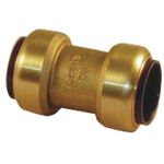 Pegler Yorkshire Straight Brass Push Fit Fitting 22mm