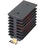 DIN Rail Solid State Relay Heatsink for use with 1-Phase SSR