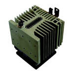 DIN Rail Solid State Relay Heatsink for use with SP/3P Solid Sate Relay