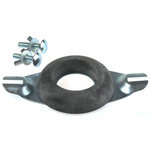Toilet Close Coupling Kit RS PRO, For Use With Plastic & Ceramic Cistern