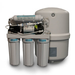 Reverse Osmosis unit with all cartridges