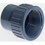 Georg Fischer Straight ABS Adapter, 1/2 in Rp Female x 1/2 in BSP Male
