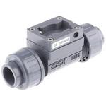 Burkert PVC In-line Flow Sensor Fitting 1/2in Straight Flow Adapter 1 in Rc