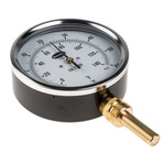 RS PRO Fahrenheit/Centigrade Dial Dry Temperature Gauge, Suitable For Heating & Ventilation, Refrigeration Industry
