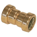 Copper Pipe Fitting Coupler 15mm