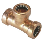 Copper Pipe Fitting Equal Tee 15mm