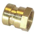 Copper Pipe Fitting Coupler 15mm 1/2 in G Female