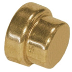 Copper Pipe Fitting End Stop 22mm