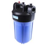 RS PRO Black/Blue High Flow Water Filter Housing, 1in, BSP, 8 bar