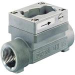 Burkert Stainless Steel In-line Flow Sensor Fitting 1/2in Straight Flow Sensor 1/2BSP