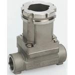 Burkert Stainless Steel In-line Flow Sensor Fitting 1-1/2in Tee 1-1/2 in G
