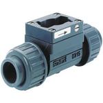 Burkert PVC In-line Flow Sensor Fitting 25mm Socket 25 mm