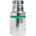 CEJN Brass Process Fitting 1/2in Nipple 1/2BSP