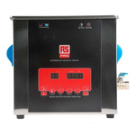 RS PRO Ultrasonic Cleaner, 300W, 9L with Lid