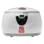 RS PRO Ultrasonic Cleaner, 35W, 600ml with Lid
