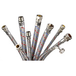 RS PRO 450mm Long EPDM 10 (DN20, 12 (DN10, DN13) bar, DN25) bar Flexible Hose