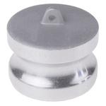 RS PRO Coupler Dust Cap, Aluminium