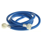 RS PRO 2.5m Long Blue Hose Pipe, Applications Household Appliances, 10mm Inner Diam.