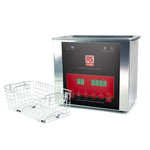 RS PRO Ultrasonic Cleaner, 100W, 3L with Lid