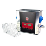 RS PRO Ultrasonic Cleaner, 300W, 6L with Lid