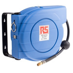 RS PRO 1/4 in BSPT 8mm 277mm Hose Reel 10, Wall Mounting