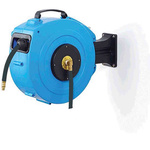 RS PRO 1/4 in BSPT 10mm 424mm Hose Reel 20 15m Length, Wall Mounting
