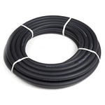 RS PRO 20m Long Black Hose Pipe, Applications Automotive, Heater Hose, Hot Water, 20mm Inner Diam.