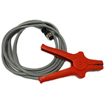 Aoip Instrumentation Kelvin Clip, 30mm Jaw Opening, 10A