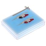 Winslow Blue/White Miniature Test Clip, 1.7mm Tip Size