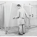EcoSafe Protective Frame, Aluminium, Height 1800mm, Width 1m