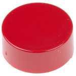 Red Push Button Cap, for use with Push Button Switch, Cap