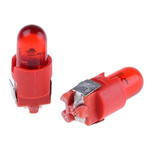 Red Push Button LED Light for use with A8 Series