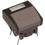 IP67 Single Pole Single Throw (SPST) Grey Keyboard Switch, 50 mA @ 24 V dc, -40 → +115°C