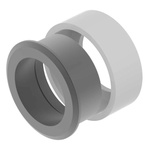 Push Button Bezel for use with For indicator and pushbutton