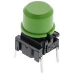 IP67 Single Pole Single Throw (SPST) Green Keyboard Switch, 50 mA @ 24 V dc, -40 → +115°C