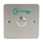 RS PRO Stainless Steel Round Push Button