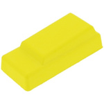Push Button Boot, for use with Enabling Switch, Push Button Switch,Yellow