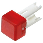 Red Square Push Button Indicator Lens for use with 18 Series