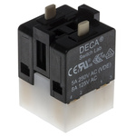 1NO/1NC+1NO/1NC Push Button Contact Block for use with 16 mm Switches
