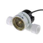 Gems Sensors RFO Series RotorFlow Electronic Flow Sensor, 15 L/min → 75 L/min