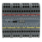 ABB Pluto S46 v2 Series Safety Controller, 24 Safety Inputs, 16 Safety Outputs, 24 V dc