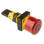 Eaton, RMQ16 Non-illuminated Red Round, 16mm Stay Put Push In
