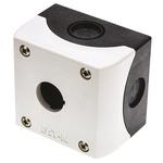 Eaton Grey Plastic M22 Push Button Enclosure - 1 Hole 22mm Diameter