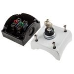 Eaton Stay Put Control Station Switch - NO/NC, Plastic, 1 Cutouts, Black, IP67