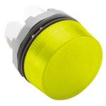 ABB Yellow Pilot Light Head, 22mm Cutout ABB Modular Series