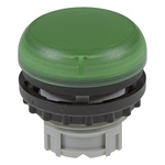 Eaton Green Pilot Light Head, 22.5mm Cutout M22 Series