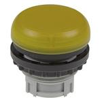 Eaton Yellow Pilot Light Head, 22.5mm Cutout M22 Series